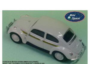 California toys - fusca (taxi) miniatura 164 - loose