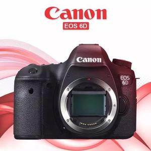 Camera canon eos 6d (corpo) (wg) (c/ nota)