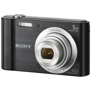 Camera digital sony cyber shot dsc-w800 20.1 megapixel preta
