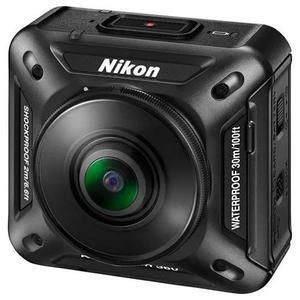 Camera nikon 360 4k bluetooth/wi fi/micro sd - preto