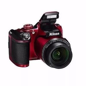 Camera nikon b500 brindes +32gb+bolsa+tripe vermelha s/j