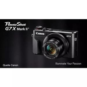 Canon powershot g7x mk2 cartão 64gb, clas 10 g7 x, nfe 1ano