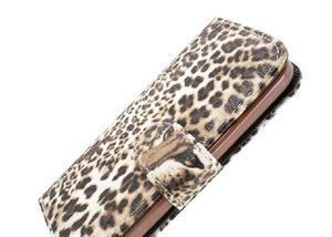 59f846c752 Capa carteira para celular lg 90 estampa onça novo