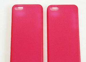 Capa case em siliconetpu vermelho iphone 6 (4.7)