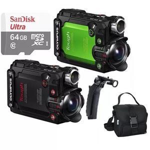 Câmera ação olympus tg-tracker stylos 4k