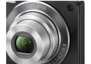 Câmera digital sony cyber-shot dsc-w350 14.1mp preta