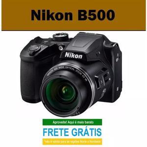 Câmera nikon coolpix b500 16mp/40x/wifi + bolsa brinde*