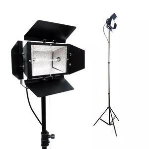 Colortran 120mm c/ lâmpada 1000w 110v 220v + tripé 2