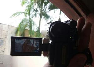 Filmadora sony 650