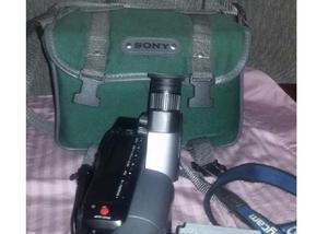 Filmadora sony (mini-fita)