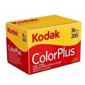 Filme colorido 35mm kodak iso 200 color plus - 36 poses