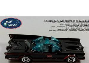 Hot wheels batmóvel clássico seriado anos 60 164 - loose