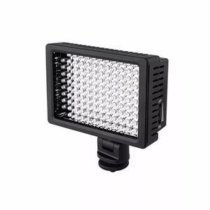Iluminador hd - 160 led para foto video dslr filmag