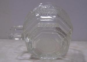 Jogo de chá de vidro sextavado importado eua - usa