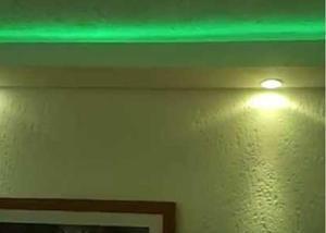 Kit 15 metros fita led verde 5050 completo para sanca