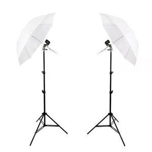 Kit de iluminação duplo foto filmag
