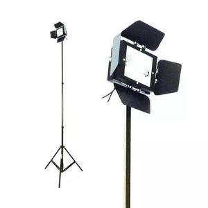 Kit iluminador 78mm c/ lâmpada fad 650w - tripé 2 metros