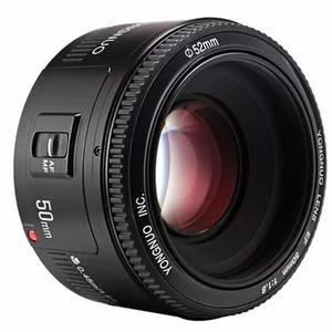 Lente 50mm yongnuo f 1.8 para canon