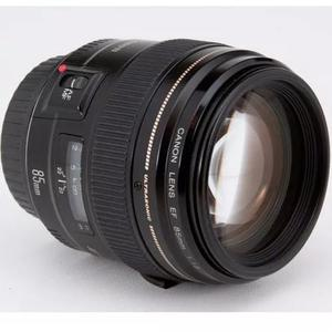 Lente canon ef 85mm f/1.8 usm autofoco 1.8 garantia curitiba