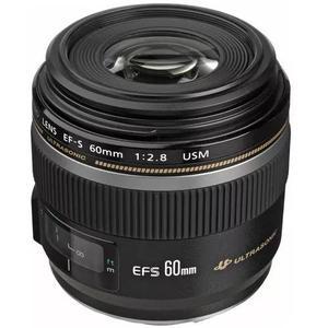 Lente canon ef-s 60mm f/2.8 macro usm - pronta entrega