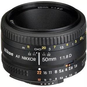 Lente nikon 50mm af f/1.8d fx garantia 1 ano pronta-entrega