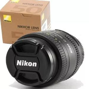 Lente nikon 50mm f/1.8d af nikkor lens. garantia de 1 ano.