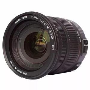 Lente sigma 17-50mm f/ 2.8 ex dc os hsm para canon