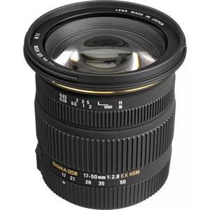 Lente sigma 17-50mm f/2.8 ex dc os hsm para canon + nfe