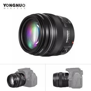 Lente yongnuo yn 100mm f2 p/ canon eos rebel af lançamento
