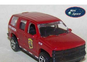 Matchbox 1997 chevrolet suv tahoe (bombeiro) 164 - loose