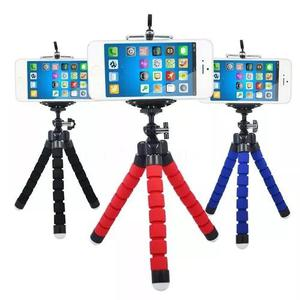 Mini tripé flexível para celulares, gopro, câmeras