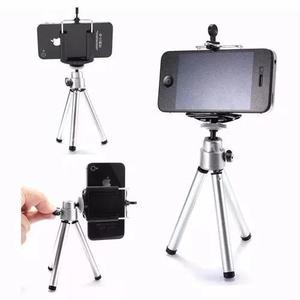 Mini tripé universal celular câmera iphone galaxy +