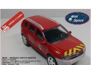 Miniatura norev 2010 renault duster depto bombeiro 164