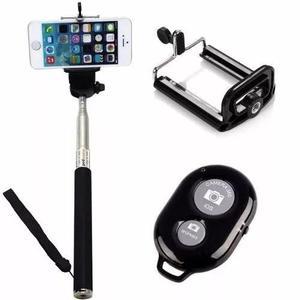 Pau bastão selfie + controle bluetooth - iphone, moto g