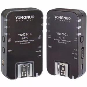 Rádio flash yongnuo - yn 622 c il e-ttl wireless p/ canon