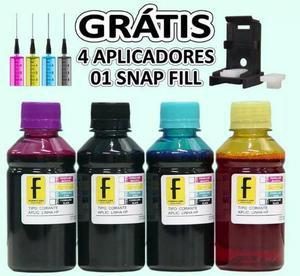 Refil tinta para impressora com bulk epson/ canon / hp ou