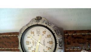 Relógio breilteng militar novo mostrador branco quartsz
