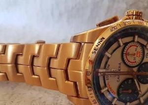 Relógio masculino calibre 16 sena tag heuer