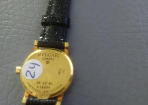 Relógio marca byugari caixa de ouro amarelo bb 22