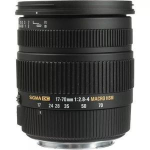 Sigma 17-70mm f2.8-4 dc macro os hsm (canon) s/j
