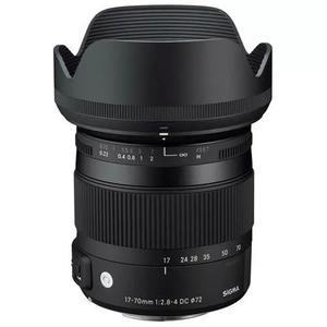 Sigma dc 17-70mm f/2.8-4 os hsm p/ nikon s/j