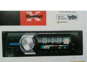 Som automotivo rádio fm mp3 bluetooth usb sd 4rca xplod