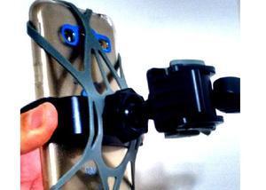 Suporte gps e celular moto rede protetora silicone j5 j7 a8