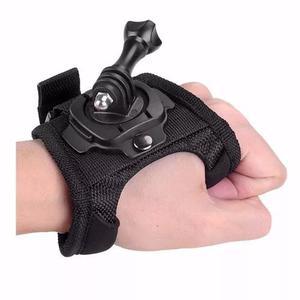 Suporte go pro mão luva hand punho 360° gopro strap mount