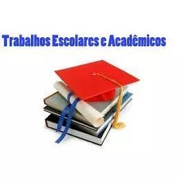 Tcc e trabalhos acadêmicos