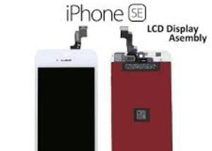 Tela touch lcd display iphone 4,5,5,c,5s,se trocamos na hora