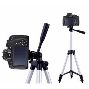 Tripé câmera profissional sl-2111 gopro até 1,30 mts +