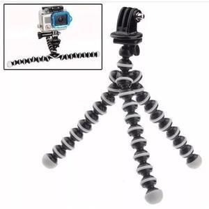 Tripé flexível gopro gorillapod tripod acessorios navcity