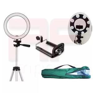 Tripé p/ ring light led ou iluminação studio reg até
