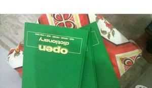 Vende-se open dictionary inglês p português - português
